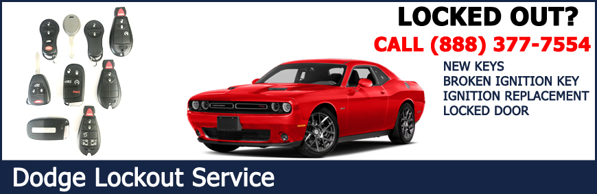 dodge car key replacement and lockout service