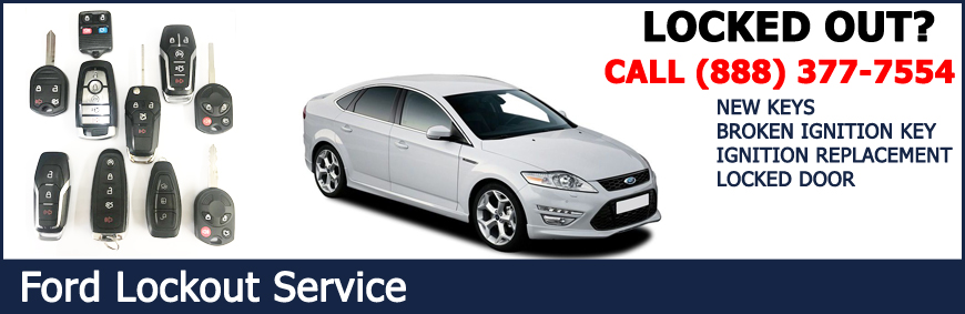ford car key replacement and lockout service